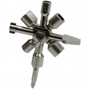 Multi-function Cross Wrench Square Triangle Valve Key Set