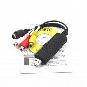 Video Audio VHS VCR USB Video Capture Card to DVD Converter Capture Card Adapter