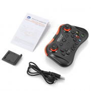 MOCUTE 056 Wireless Bluetooth Gamepad PUBG Controller Joystick for iOS and Android System / Laptop Game Controller