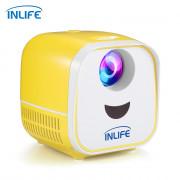 Inlife L1 Home Entertainment LCD Projector 320 x 240 Pixels 1000lm High Brightness USB + HDMI + TF