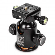 QZSD Q - 03 Tripod Panoramic Ball Head Holder 360 Degree Fluid Rotation Support Gimbal Accessories SLR Cameras