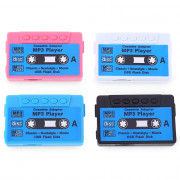 Stylish Cassette Style Portable USB MP3 Music Player with TF Card Slot