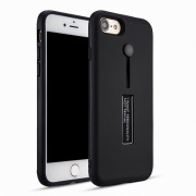 Luxury Shockproof Case for iPhone 7/8 Case Metal Ring Stent Function Phone Cover