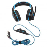 EACH G4000 Pro Gaming Headset Stereo Sound 2.2M Wired Headphone Noise Reduction with Microphone for Computer Tablet PC