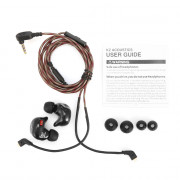 KZ ZSR Hybrid Earphones Balanced Armature with Dynamic In-ear Earbuds