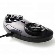 USB Gamepad Game Controller with 6 Buttons for SEGA Genesis / MD2 Y1301