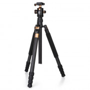 QZSD Q968C 1.75m Carbon Fiber 4 Section Camera Tripod Unipod