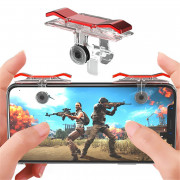Mobile Game Fire Button Shooting Trigger Aim Key Joystick 2pcs