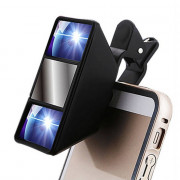 Mini 3D Photograph Stereoscopic Camera Lens Clip for Mobile