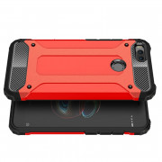 Shockproof Rugged Impct Hybrid Armor Silicone Back Cover Phone Stand Back Case for Xiaomi Mi A1 / 5X