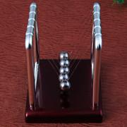 Newton Cradle Steel Balance Ball Physics Science Pendulum Desk Fun Toy Gift
