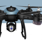 LH - X38GWF - BS GPS WiFi FPV RC Drone - RTF Altitude Hold Waypoint Point of Interest Follow One Key Return Quadcopter