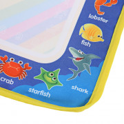 Magic Animal Water Drawing Writing Mat Toy with Watercolor Pen for Kids