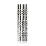 100pcs 5 x 5 x 3mm N52 Strong NdFeB Cylinder Magnet Birthday DIY Intelligent Gift