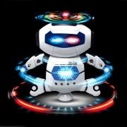Kids Electronic Walking Dancing Robot with Music Light Fun Toy