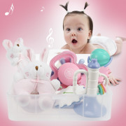 GoryeoBaby Baby Hand Bell Rattle Teething Toy Set