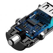Baseus Dual USB QC 3.0 Quick Fast Car Charger Intelligent 30W