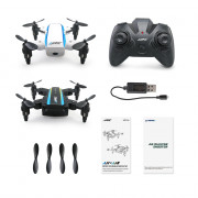 JJRC H345 JJI x JJII Micro Foldable RC Quadcopter Set 2.4GHz 4CH 6-axis Gyro / Headless Mode / One Key Return