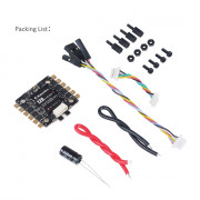 Makerfire BLHeli-S 4-in-1 rc ESC 12A 2-3s lipo Electroic Speed Controller Support Dshot 150/300/600 for FPV Drone quadcopter