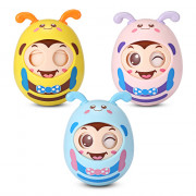 1022 - 16 Baby Rattle Bird Tumbler Doll Sweet Bell Sound Music Toy