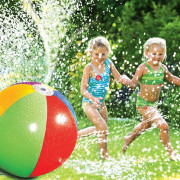 PVC Inflatable Sprinkler Water Ball Toy for Hot Summer Swimming Party Beach Pool