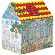 1280 Children's Tent Painted Graffiti Coloring Baby Play House