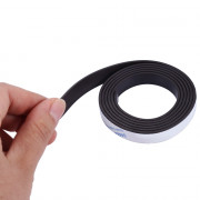 10 x 1.5mm 1m Self-adhesive Flexible Rubber Magnet Strip Tape
