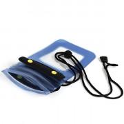 Blue Waterproof Case Bag for iPhone