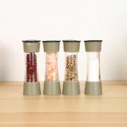 8pcs Plastic Rotary Sauce Spice Seasoning Bottle Box