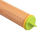 Adjustable Baking Stick Wooden Rolling Pin Baking Tool