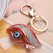 Big Eye Shape Keychain Fashion Bag Pendant