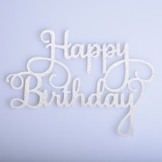 Cake Topper Simple Birthday Design Decorative Party