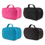 Double-layer Travel Storage Cosmetic Bag