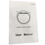 ilife V5 Vacuum Cleaning Robot LCD Touch Remote Control Aspirador