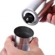 Stainless Steel Ceramic Burr Hand Crank Manual Coffee Grinder