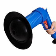 Gun Type Bathroom Kitchen Pipe Toilet Drain Cleaner Tool