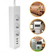 Multifunctional Power Strip 3 Outlet 3 USB Port Socket Plug
