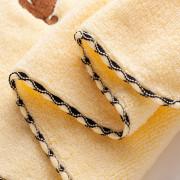 Face Towel Cotton Cute Puppy Pattern Comfy Cozy Children'S Towel