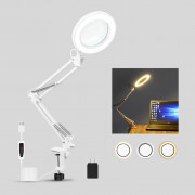 5X LED Magnifying Glass Lamp Desk Table Light Loupe Magnifier Tattoo Nail Art