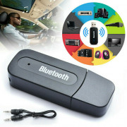 Wireless Bluetooth 4.0 Transmitter A2DP Audio -RCA to 3.5mm AUX +USB Adapter HUB