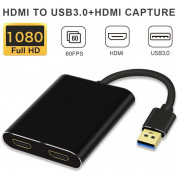 1080p Video Capture Card HD Recorder for Video Live Streaming / Game Adapter
