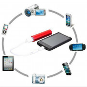 2600mAh Portable External USB Power Bank Box Battery Charger For Mobile Phone