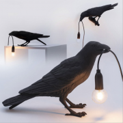 Bird Shaped Desk Light Bedside Reading Wall Lamps Table Office Bedroom Sconce