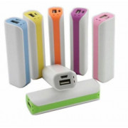 External USB Portable 2600mAh Backup Battery Charger Power Bank for phone