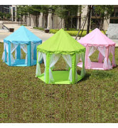 Portable Princess Castle Play Tent Activity Fairy House Fun Indoor Outdoor Playhouse Toy