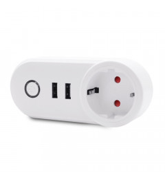 WiFi Smart Plug Remote Control Socket Work for Amazon Alexa / Google Home